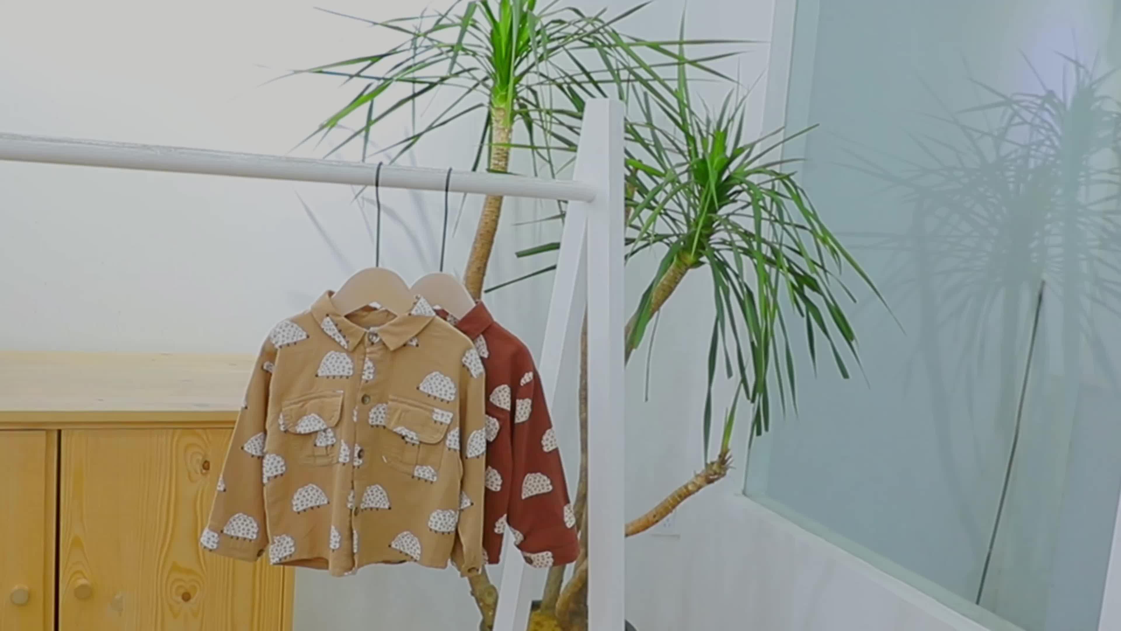Wholesale Children Clothing Wear Super Soft Shirt Wholesale Cotton Shirt Children Shirts Boys