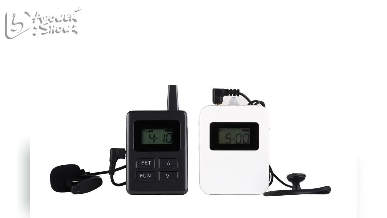 Haute Qualité Audio Longue Distance Sans Fil Système de Guide touristique