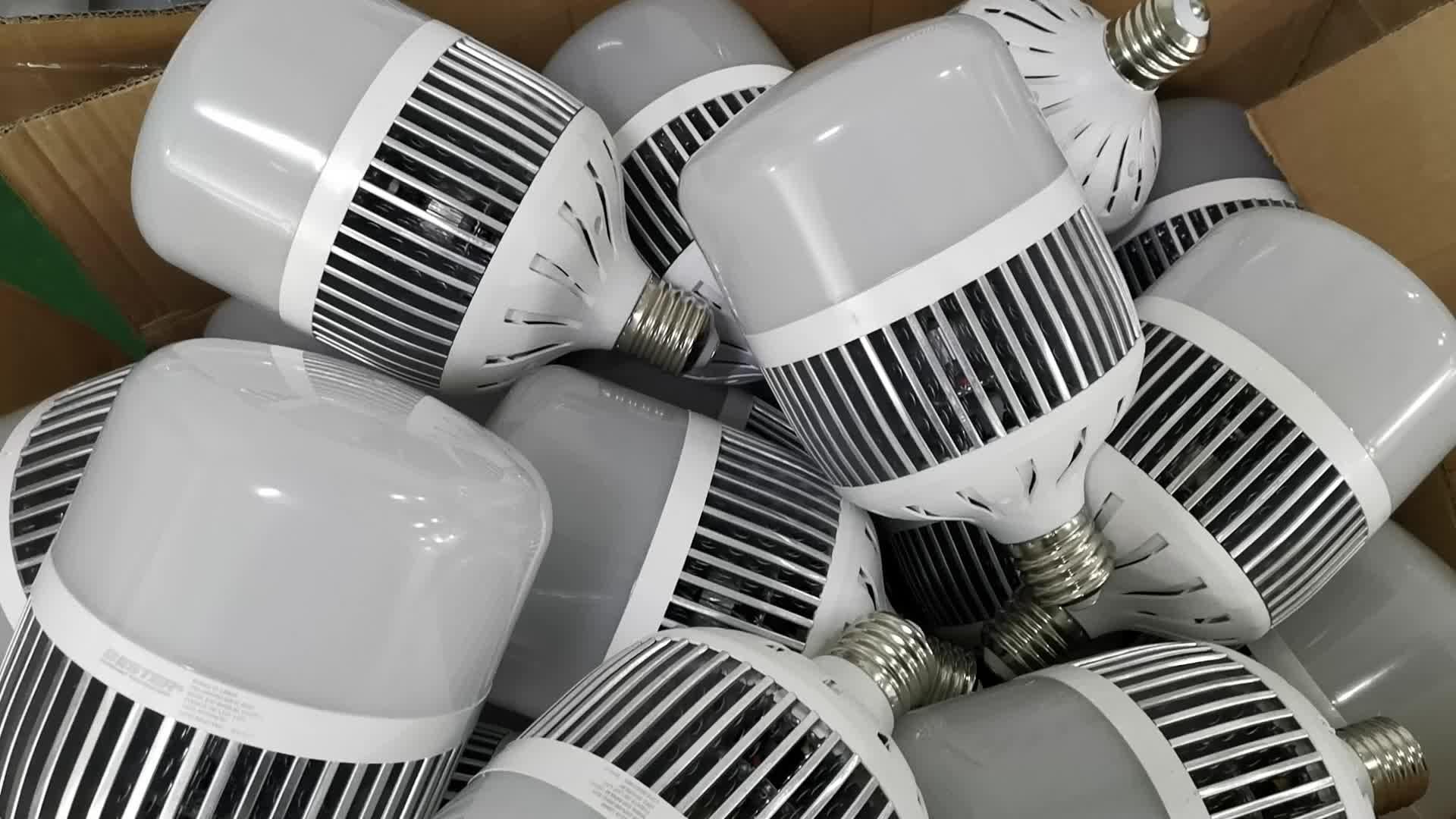 Складские Светодиодные промышленные лампы высокой мощности E27/E40