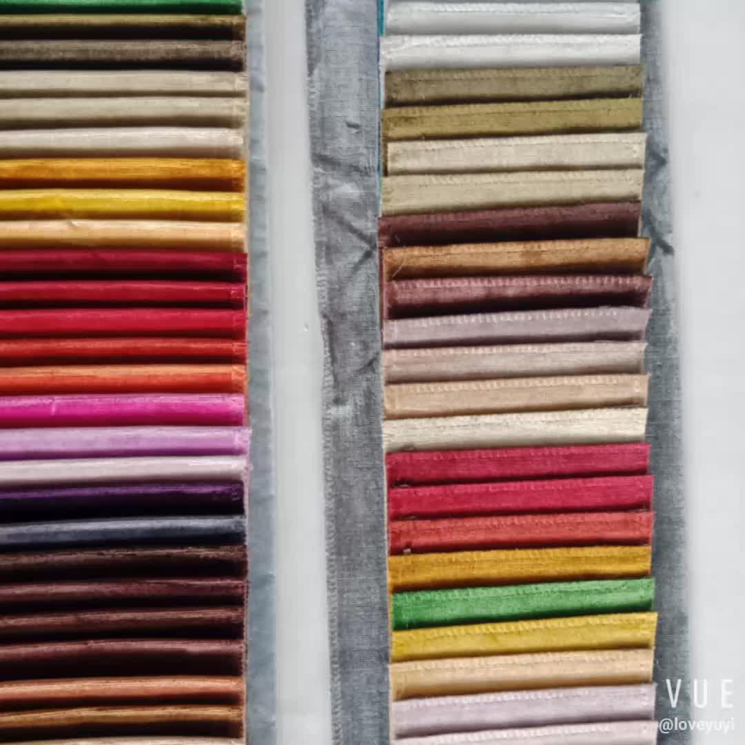 Hot Sale Super Soft Vintage Polyester Cut Velvet For Sofa Fabric