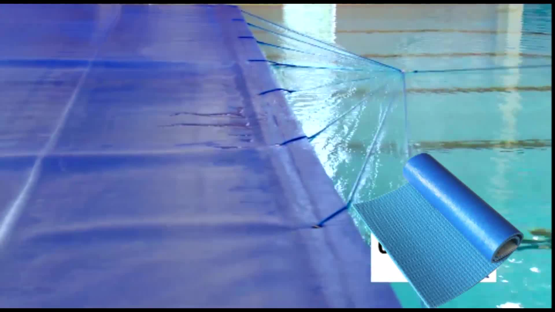 Retractable Waterproof Above Ground Swimming Pool Cover