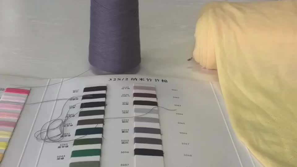 China Most Competitive 2/28 2/32 Nm 100% Spun Polyester Yarn Price