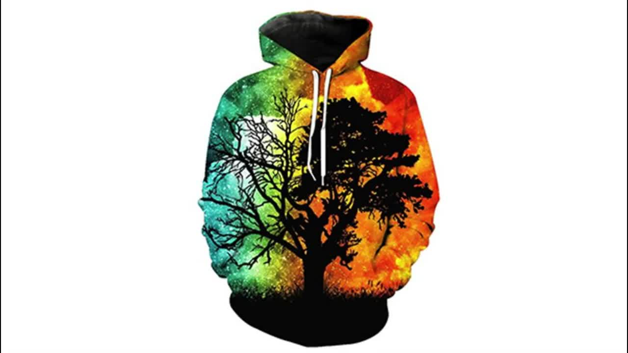 Fashion 3D Sweatshirts Men Women Casual Sublimation Hoodies