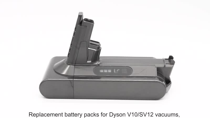 Customized Dyson V10 vacuum battery Dyson SV12 vacuum battery for Dyson cleaners from Shenzhen OEM factory