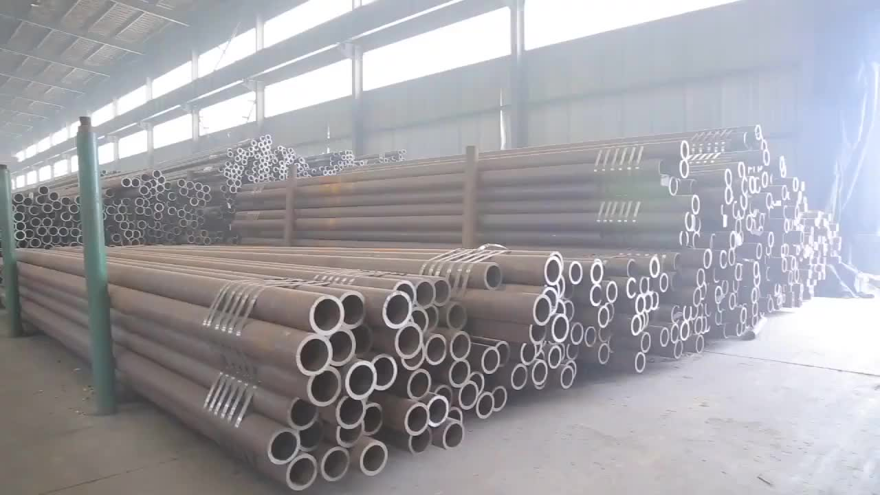 Hot sale ms carbon seamless steel pipe