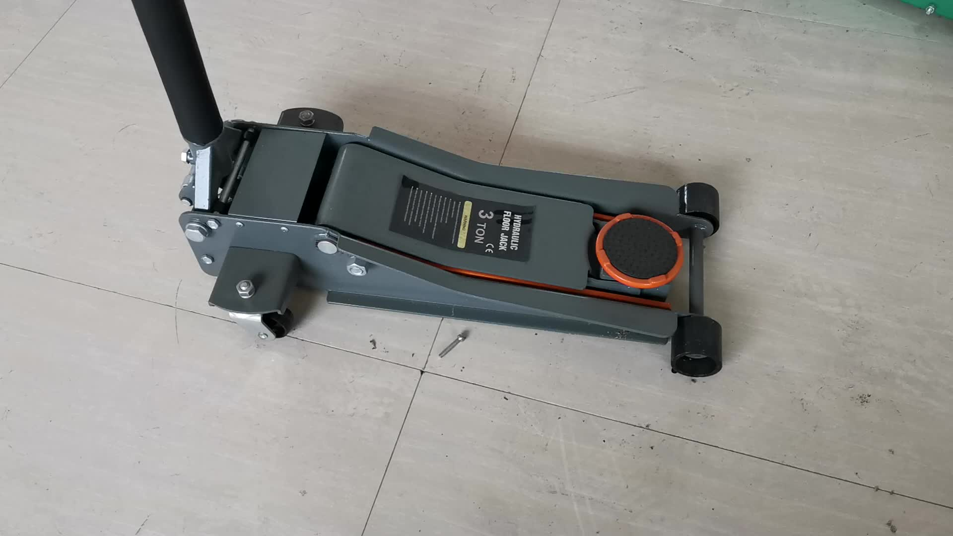 Réparation automatique 3Ton Voiture Hydraulique À Profil Bas Vérin Cric