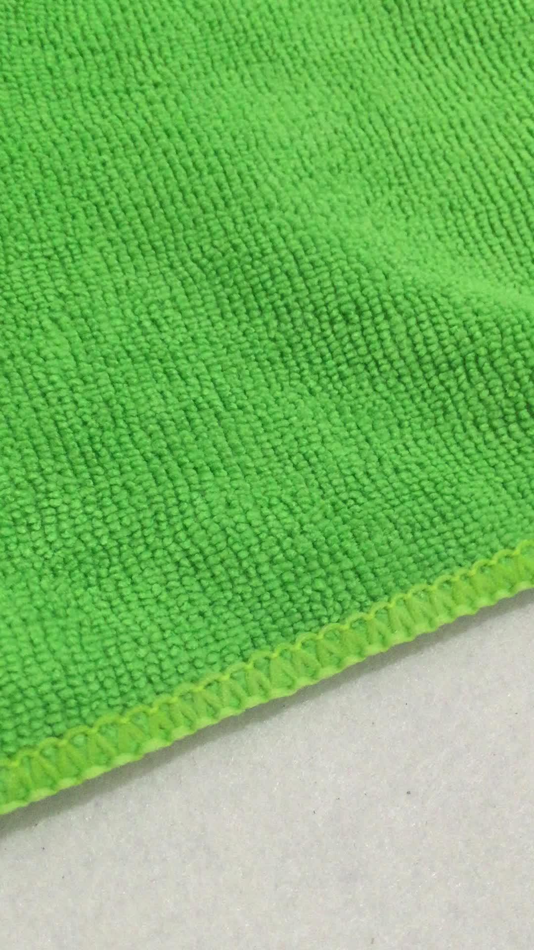 Toalha microfibra làm sạch vải sợi nhỏ cho xe