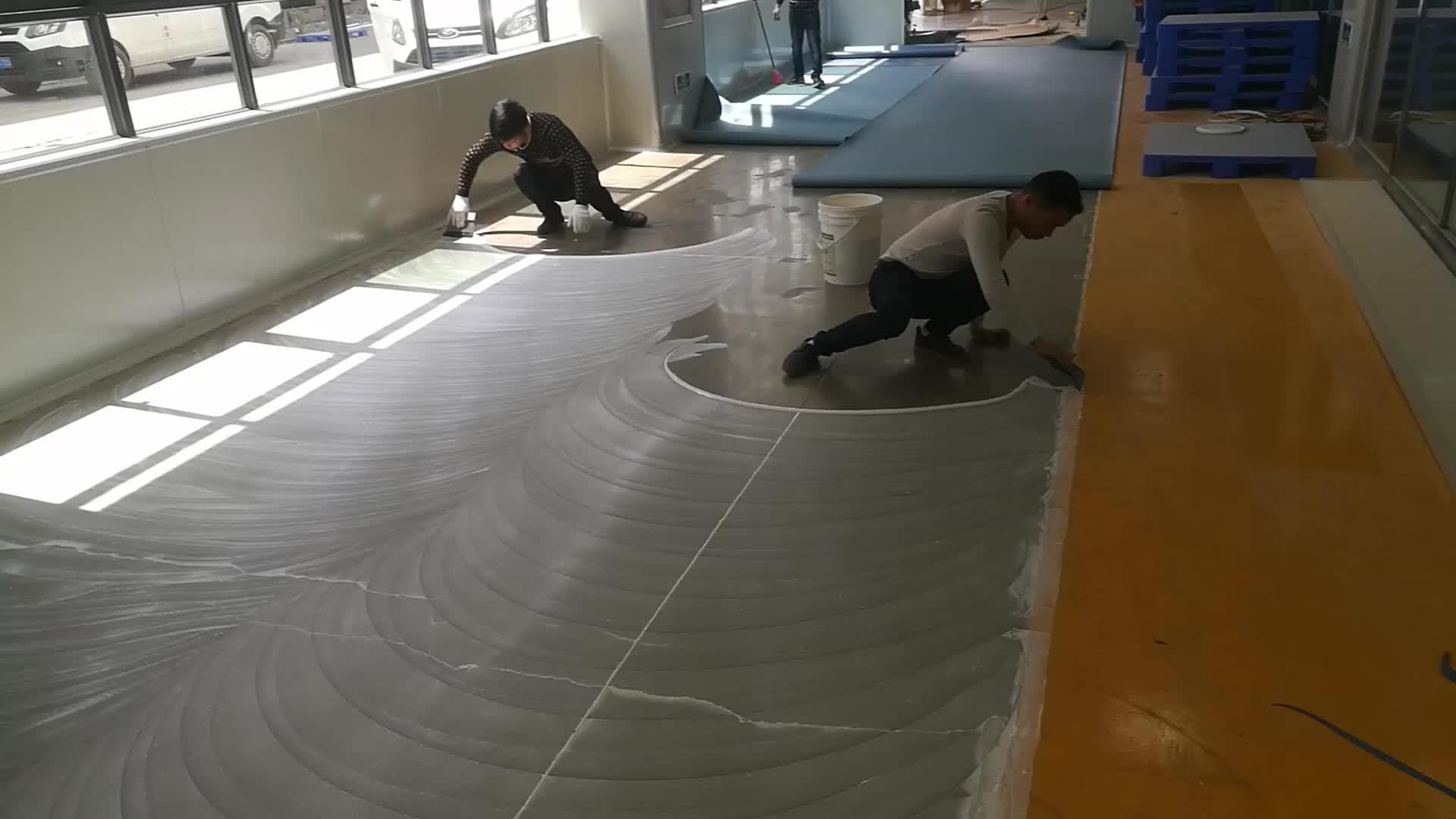 Sportscholen badminton hof pvc vinyl vloeren pvc sport vloeren