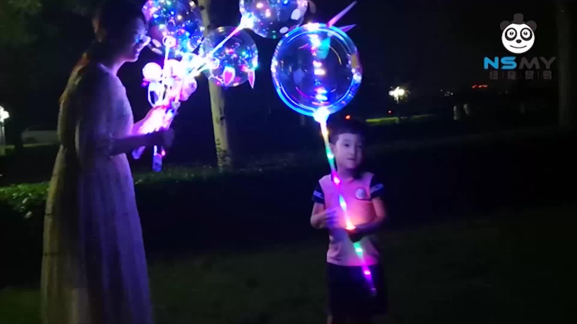 customised helium inflatable advertising new design toys 3D balon led balloon light sticker for lighting globos dog cat ballon