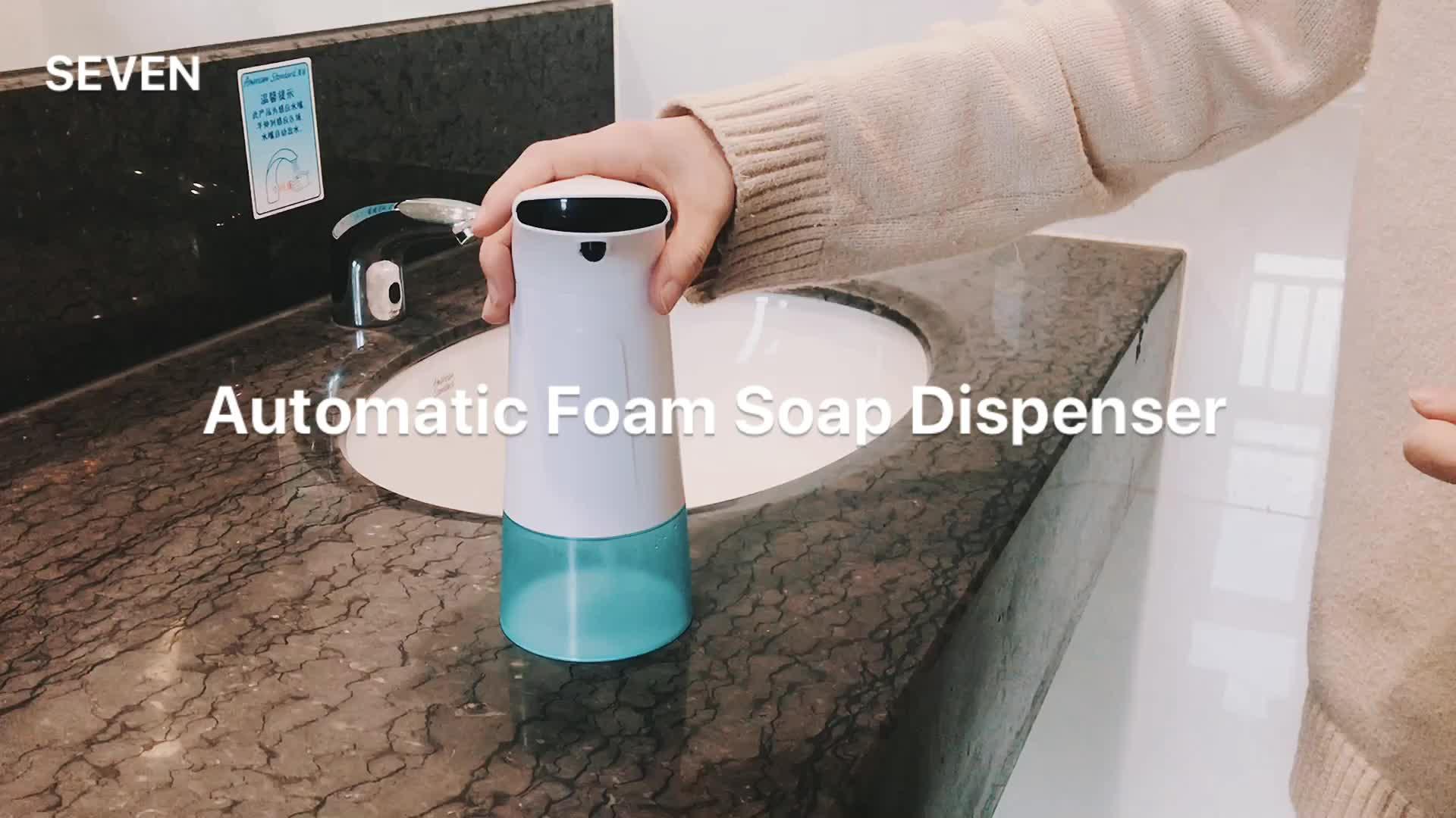 YEDI Amazon sıcak satış ABS plastik sensörlü sabunsuz köpük sabun sabunluğu otomatik