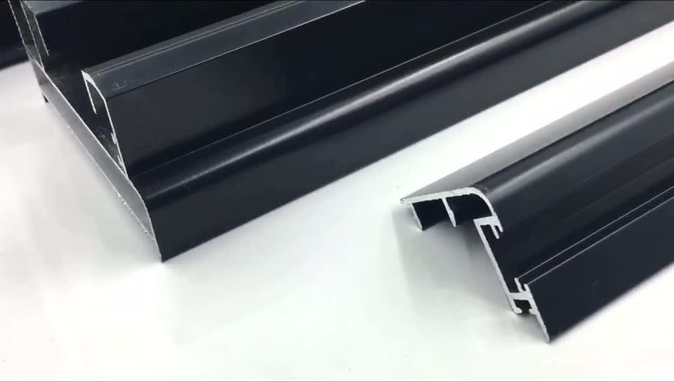 Customized anodized aluminium profiles 6063 aluminium extrusion factory