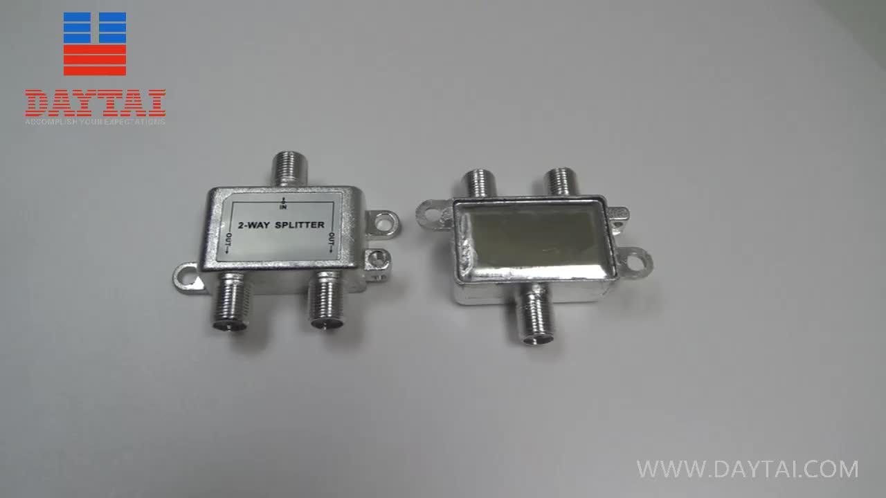 Venta caliente óptico CATV divisor de 2 vías