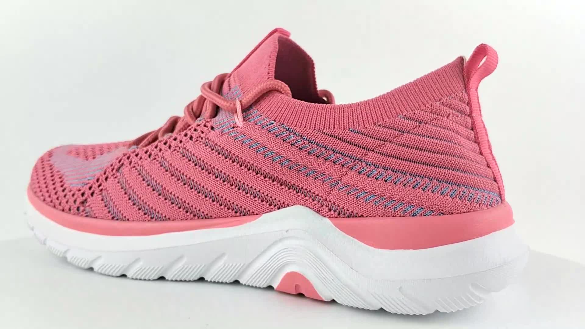New model custom OEM ODM factory manufacturer girl lady sport sneaker women running shoes