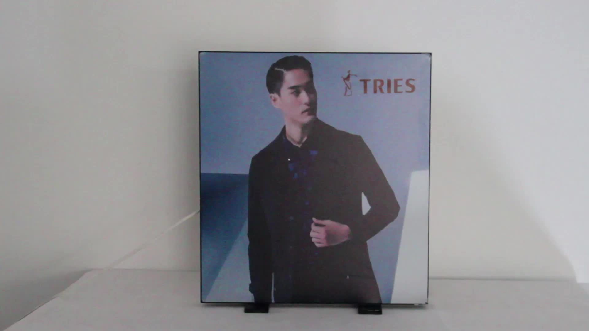 Easy Installation Indoor Led Trade Show Fabric Light Box Frame