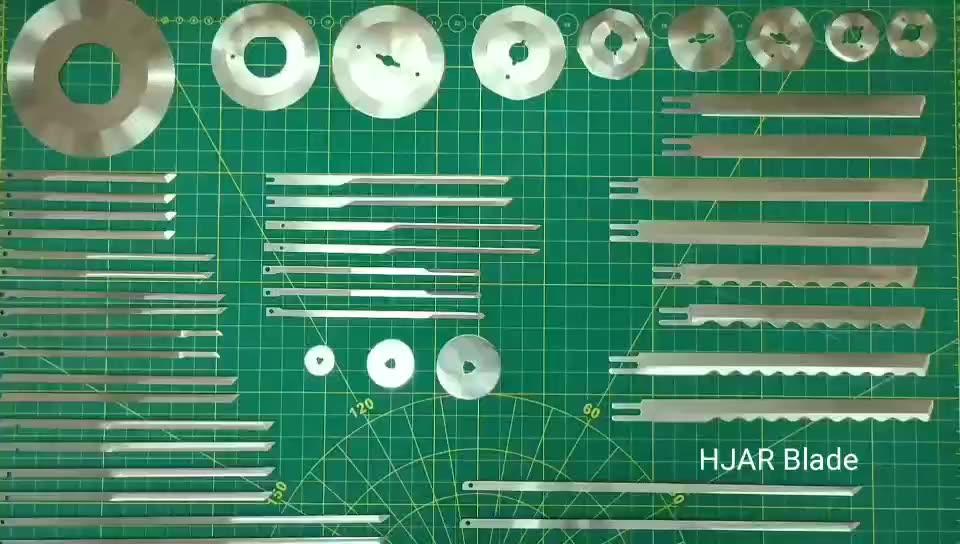 Ücretsiz örnek otomatik dairesel yuvarlak kumaş kesme bıçağı bıçakları LEJIANG