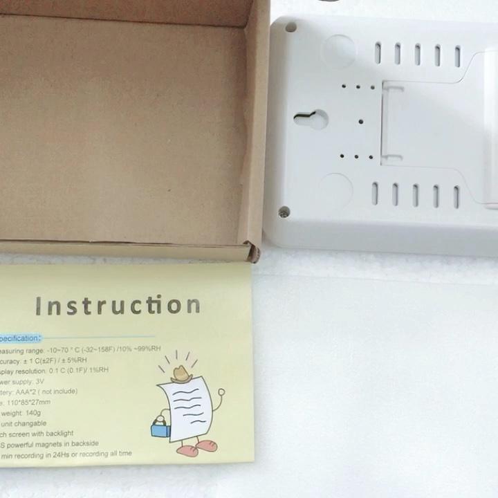 Multi-Functionele Indoor Vochtigheid Monitor Digitale Desktop Thermometer Hygrometer Weerstation