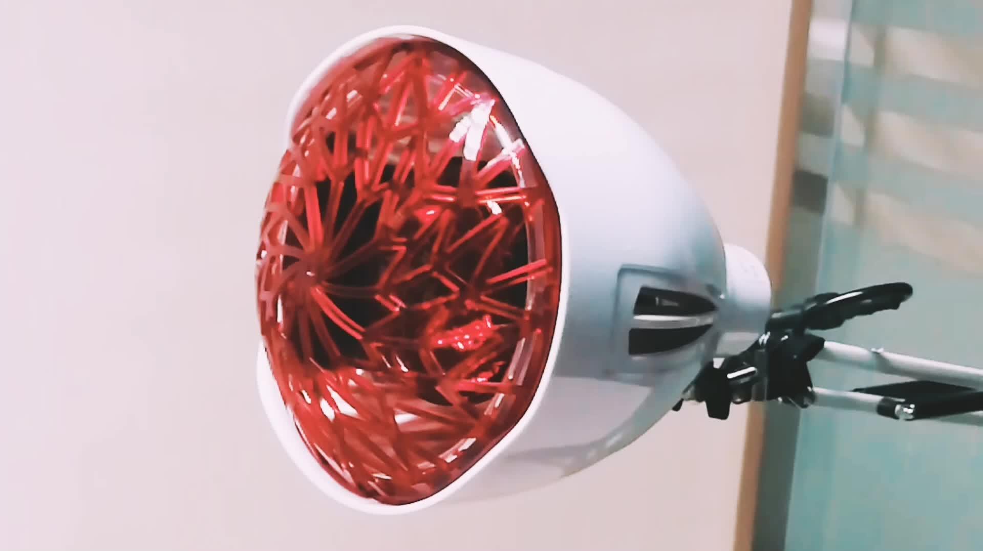 Stand Luce Rossa TDP Lontano Lampada di Riscaldamento A Raggi Infrarossi per il Mal di Schiena