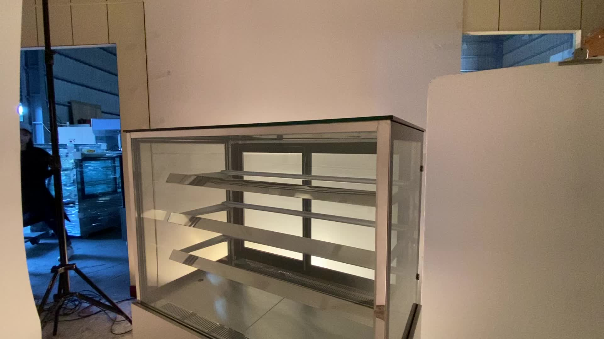 Good price cake display fridge for south america cake display fridge case deli cabinet showcase chiller refrigerator