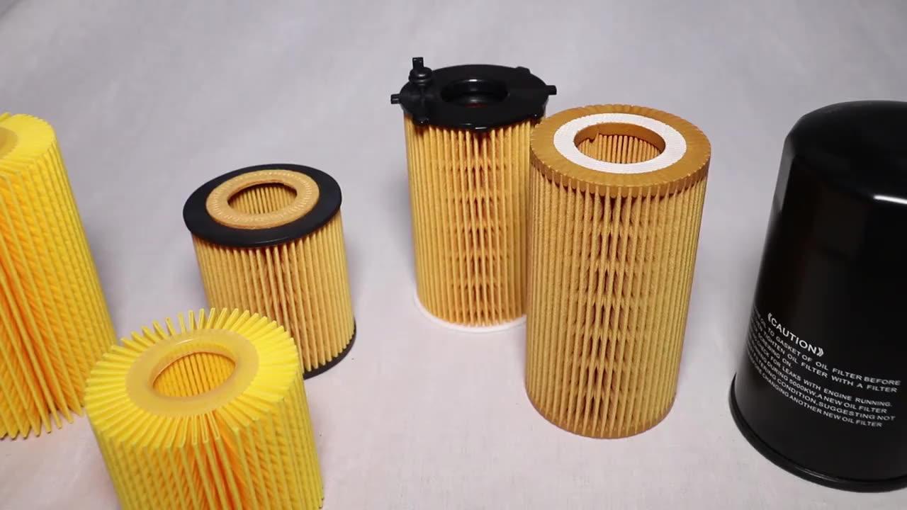 Hebei ZYC yedek yağ filtresi parçaları araç teçhizat OEM 074115562 38115466 0381515466
