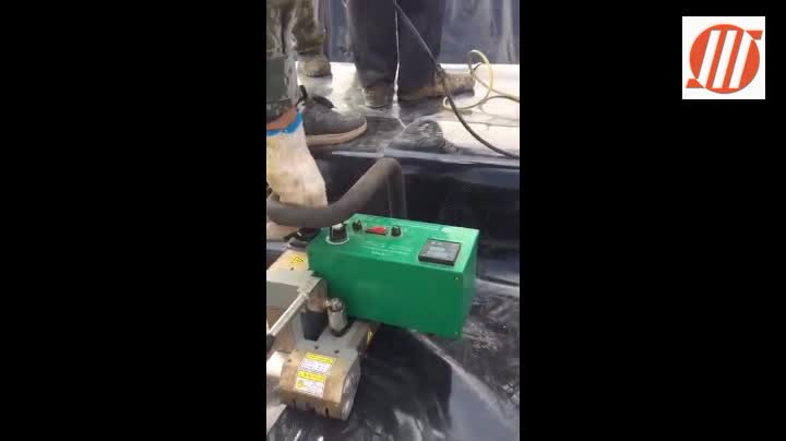 Reliable Plastic HDPE Geomembrane Hot Wedge Welder, Arc Welding Machine