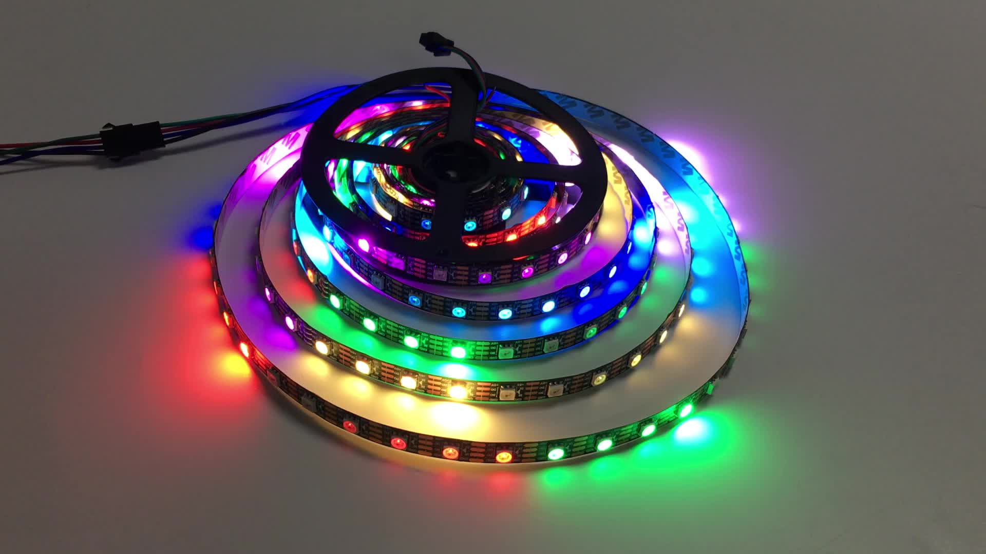 144 led 60led 30led strip ws2812 RGB SMD5050 High Quality Ws2812b Addressable Rgb Led Strip