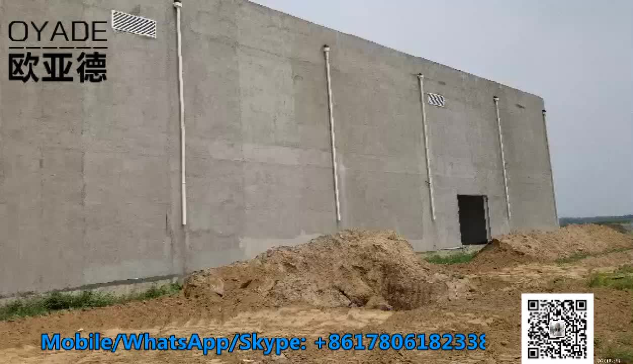 flexible 20000m3 - 1000000m3 Slab Plant Lightweight Wall Panel Making Machine/Sandwich Panel Production Line