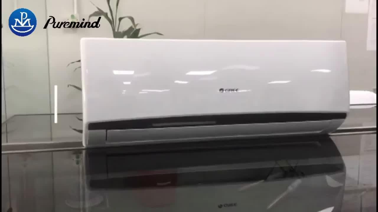 GREE Baru Smart Hidup Dinding Mini Split Turbo Pendingin Tidur Mode Auto Clean Air Conditioner