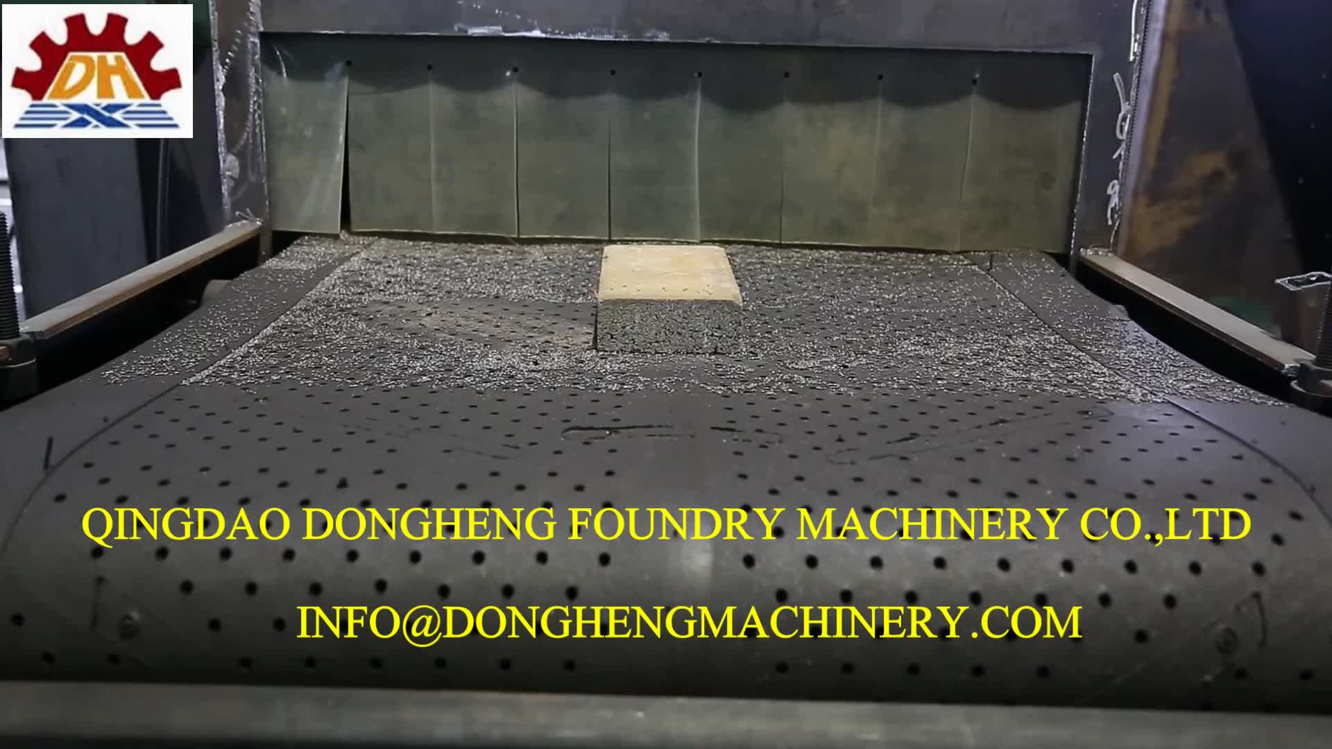 Granite stone compressed asbestos-cement sheet shot blasting machine for paver industry