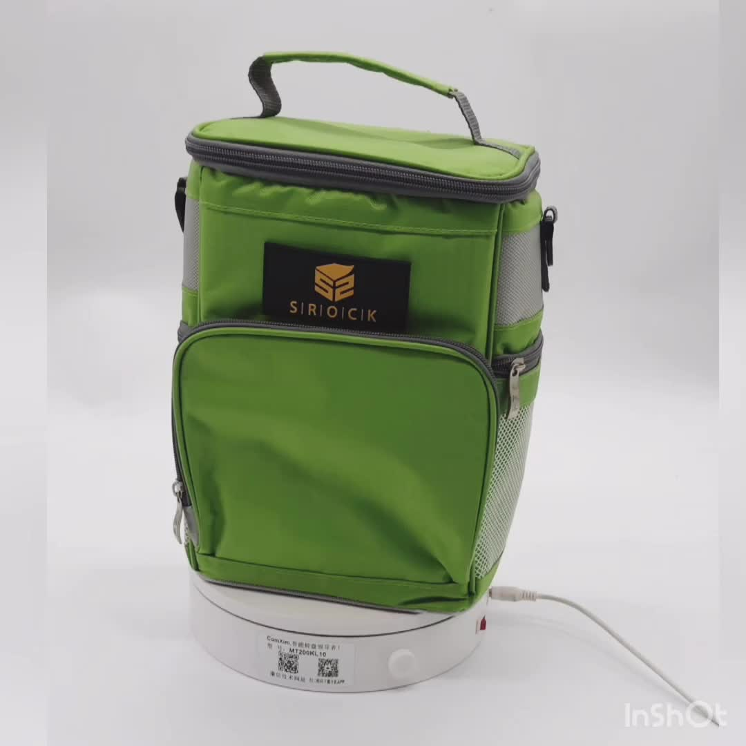 Insulated  food delivery bag lunch bag ice cream carry bag