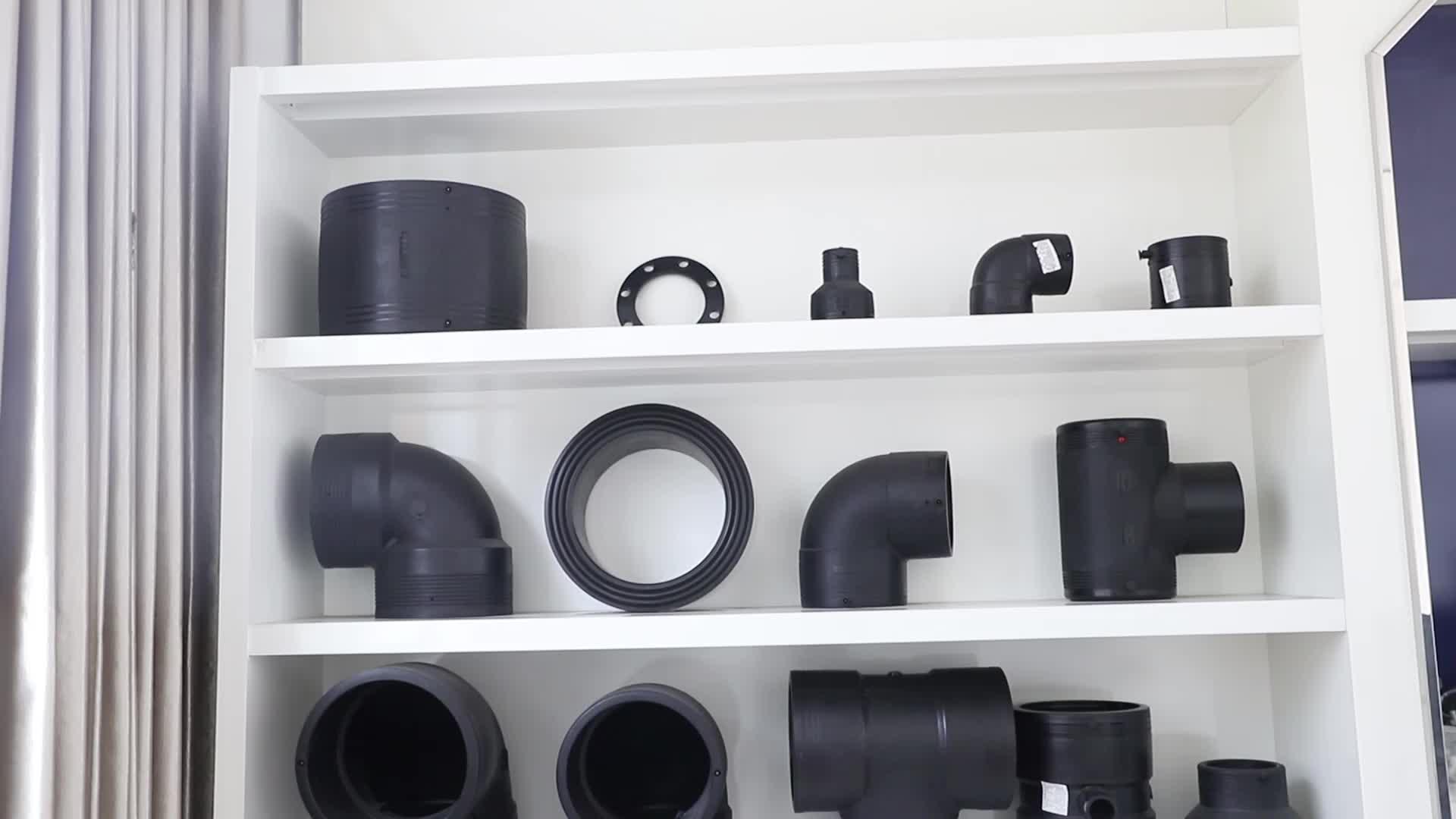 Cống HDPE Khớp Nối Nhựa Plastci Phù Hợp Kết Nối Ống Dn125mm 150 Mm 1000 Mm