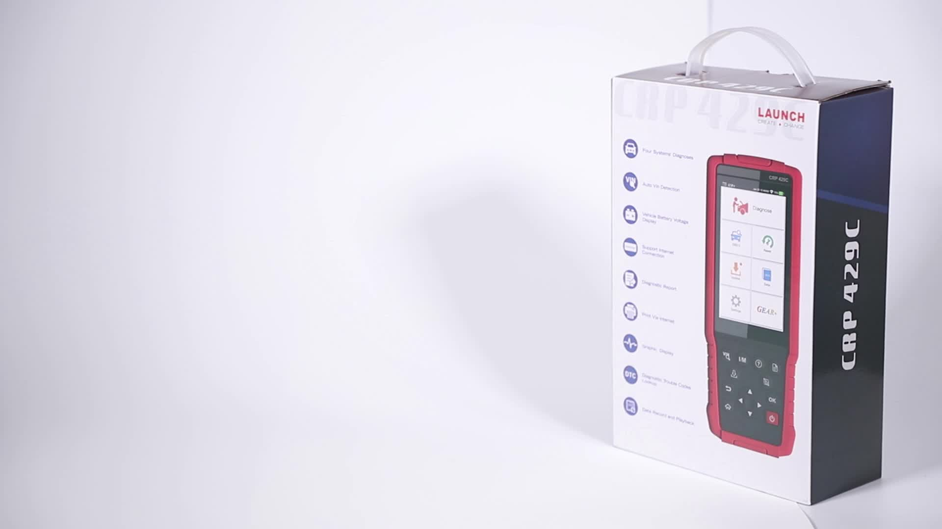 Lancio strumento Diagnostico Professionale CRP429C Supporto ENG/ABS/SRS/AT Tester CRP 429C Auto Scanner
