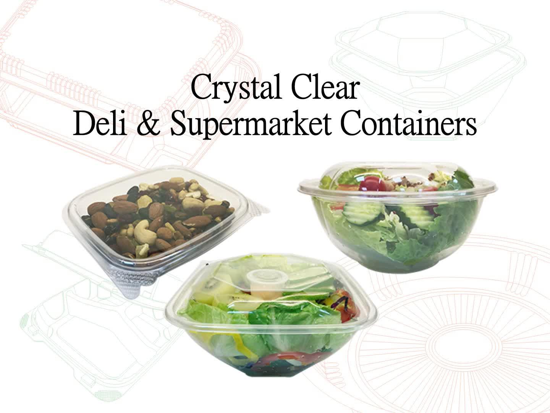 Plastik Bagus Kue Bulan Dome Kotak Kemasan Salad Mangkuk Jelas Makanan Kemasan