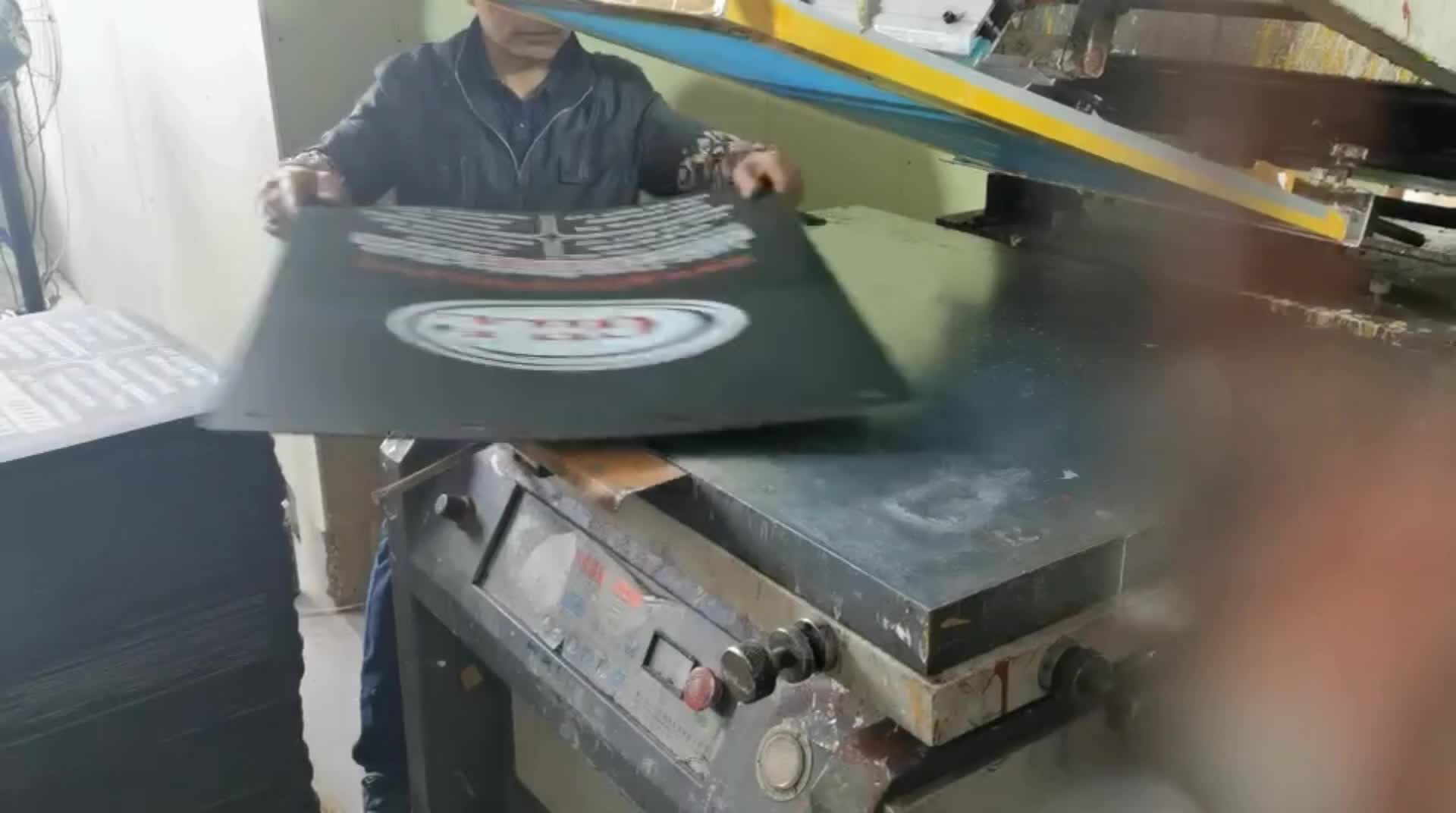 Mud flap mud guard with raised logo and printing for cargo truck