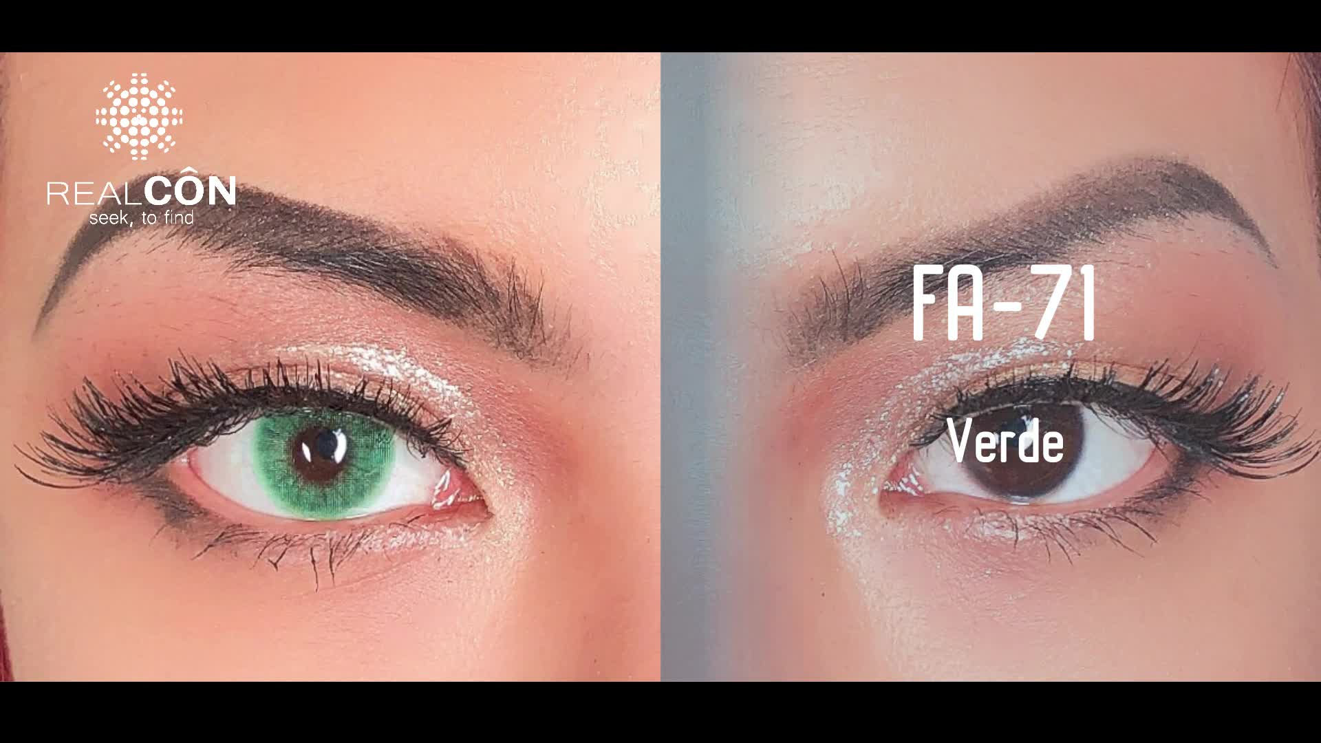 핫 잘 팔리는 natural color contact lens super natural 13 색 contact 렌즈로 구성 natural color lentes 드 contacto