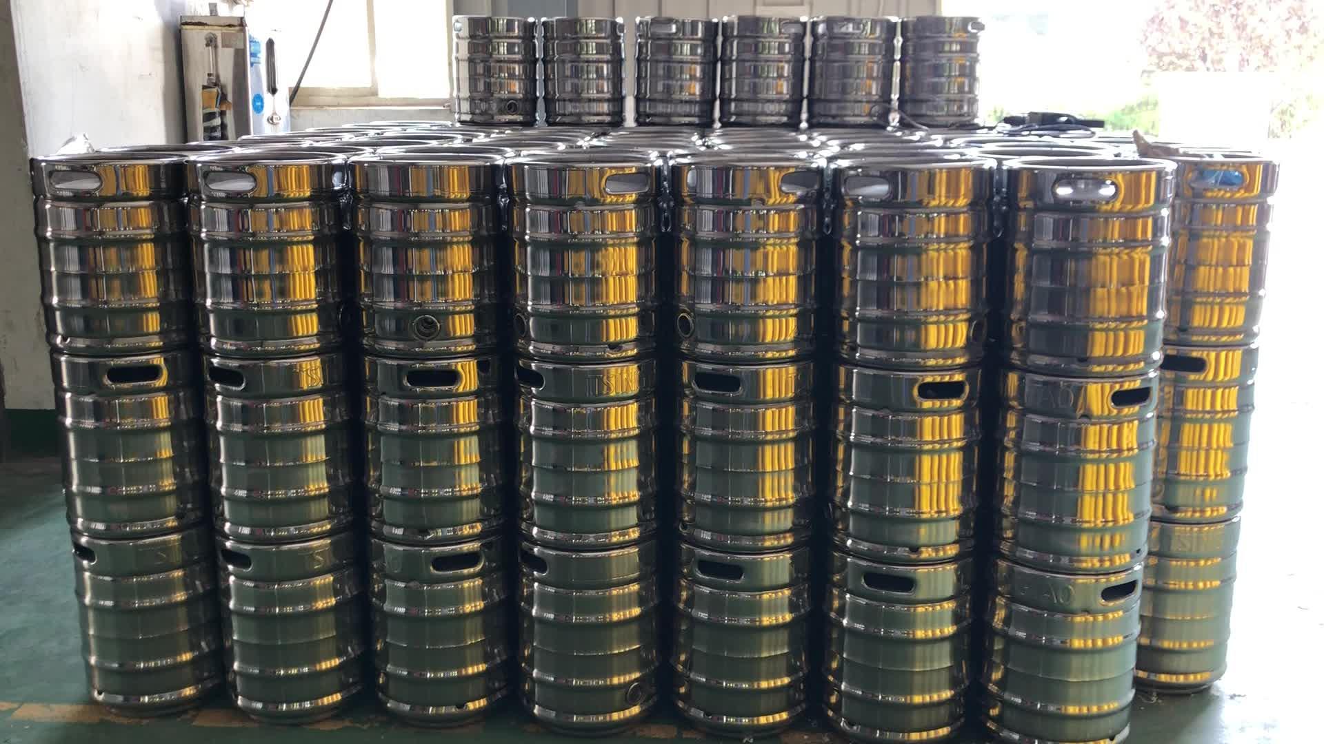 20l barril de cerveja de parede dupla de aço inoxidável de isolamento barril barril de chopp