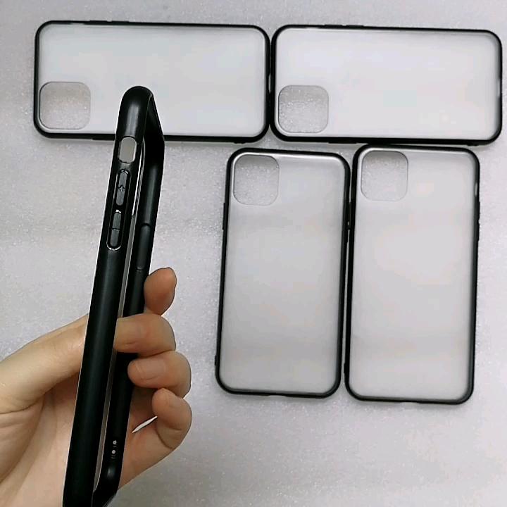 TPU Tapis PC UV Impression Logo Personnalisé Blanc Housse De Téléphone Portable pour iphone 11
