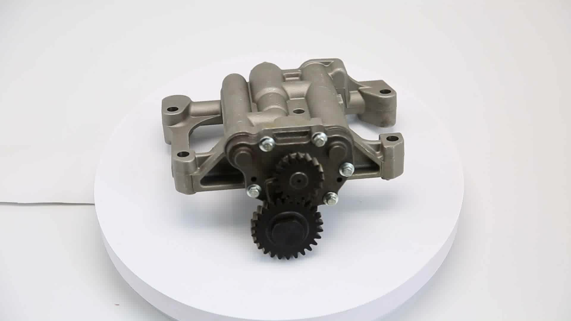 WMM Factory Discount Price Oil Transfer Pump Tractor Parts Oil Pump Less Pulley Oil Pump Price for MF OEM 4132F071