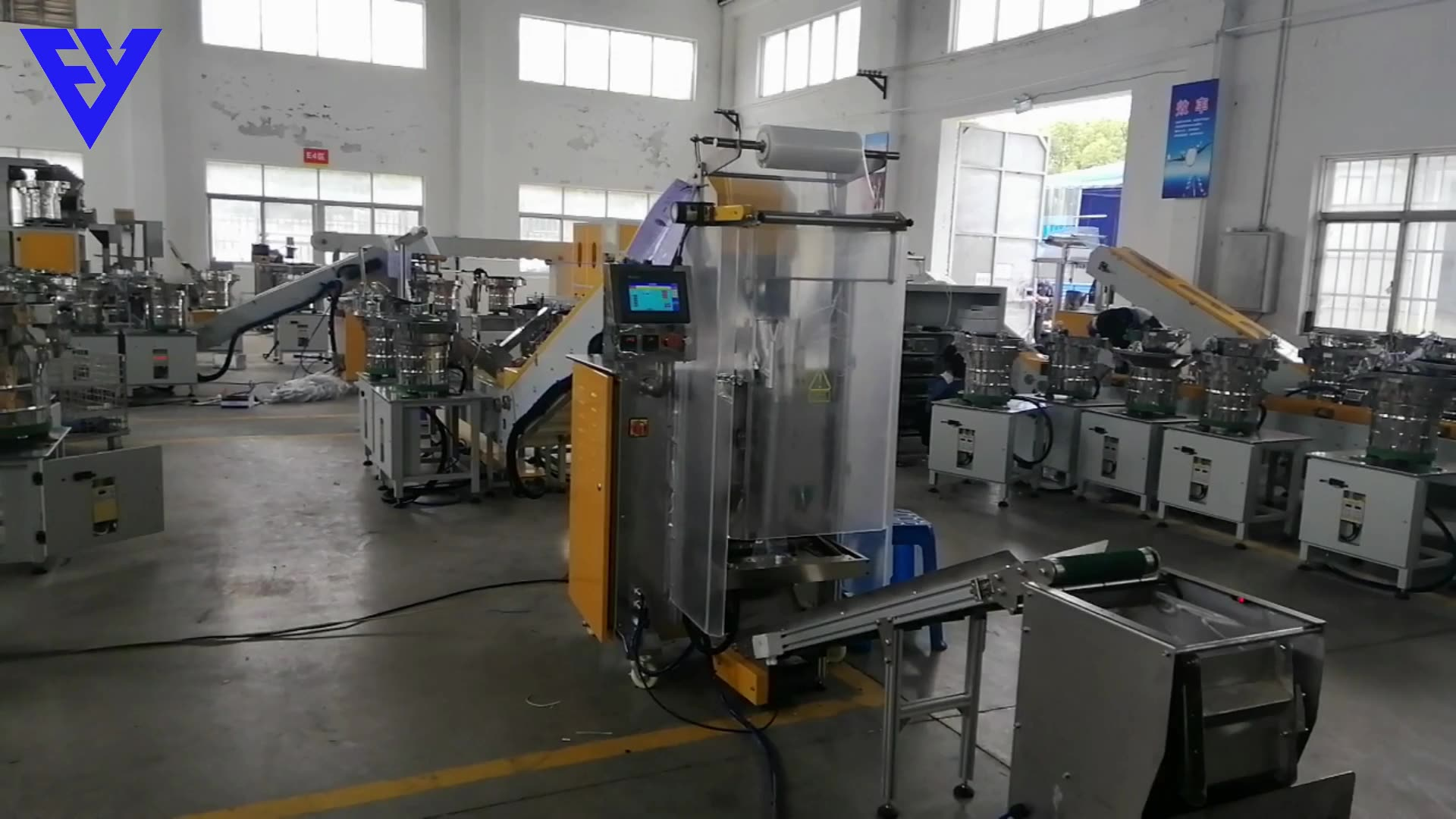automatic linked bag screw counting and packing machine for screw counting packing