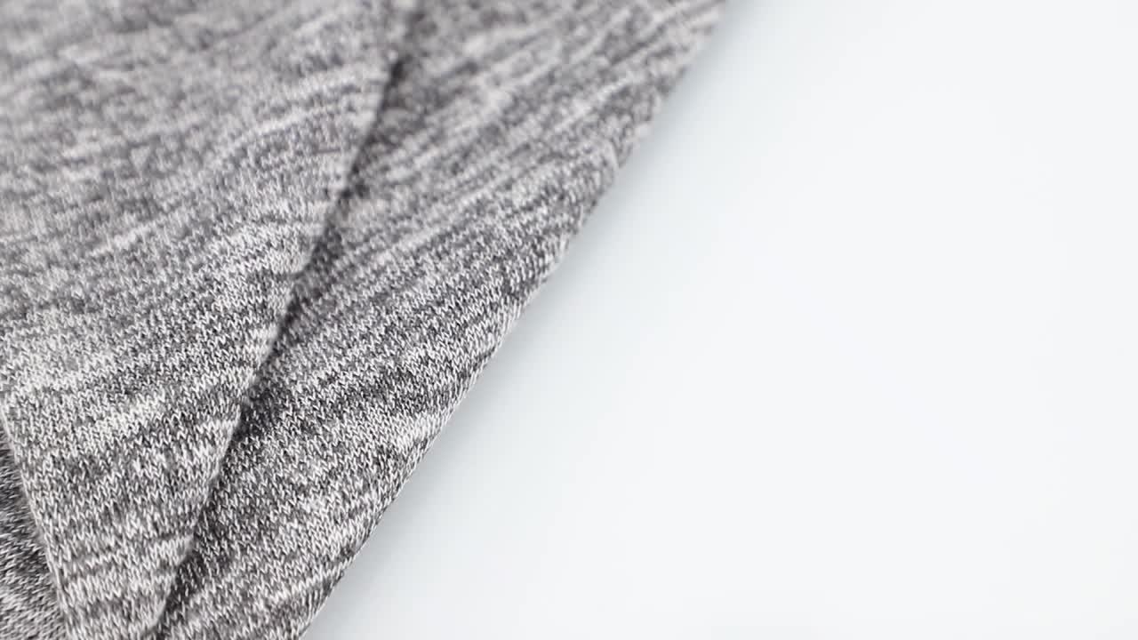 High quality wholesale soft hand jacquard rib polyester rayon slub hacci knit fabric