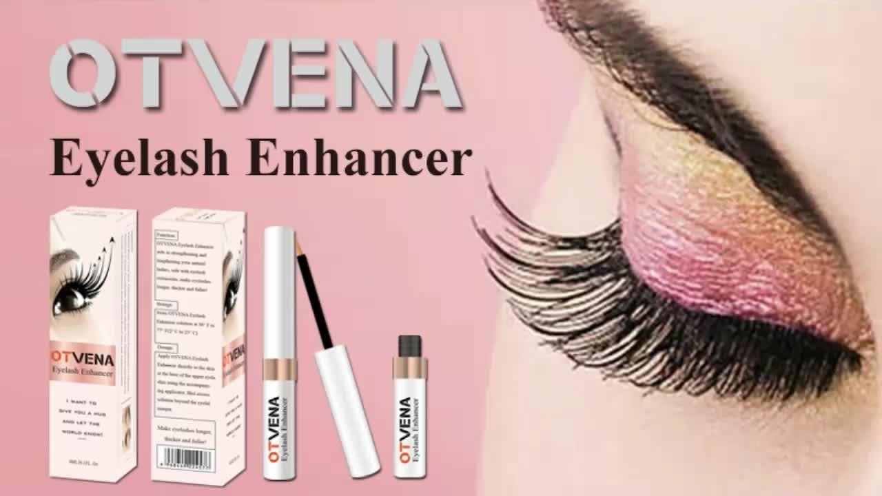 Private label lengthening curling eyelash growth serum