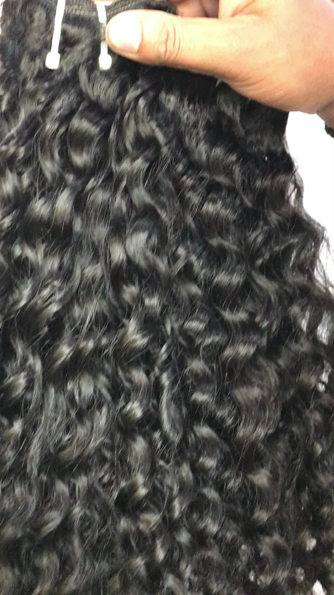 Top Quality Wholesale Virgin Cuticle Aligned Indian Hair From One Donor