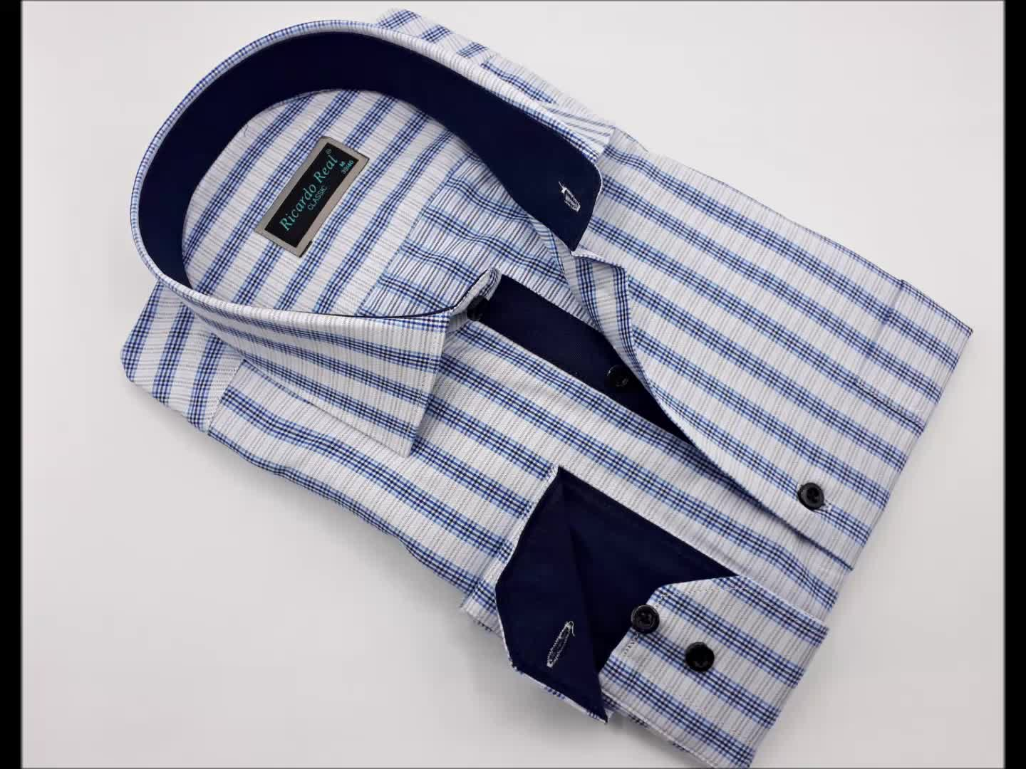 Fashionable Wholesale Turkish Cotton Shirts Men's Dress Shirt