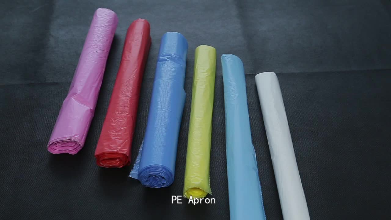 Exported 1.5mil black garbage bags clear can liners