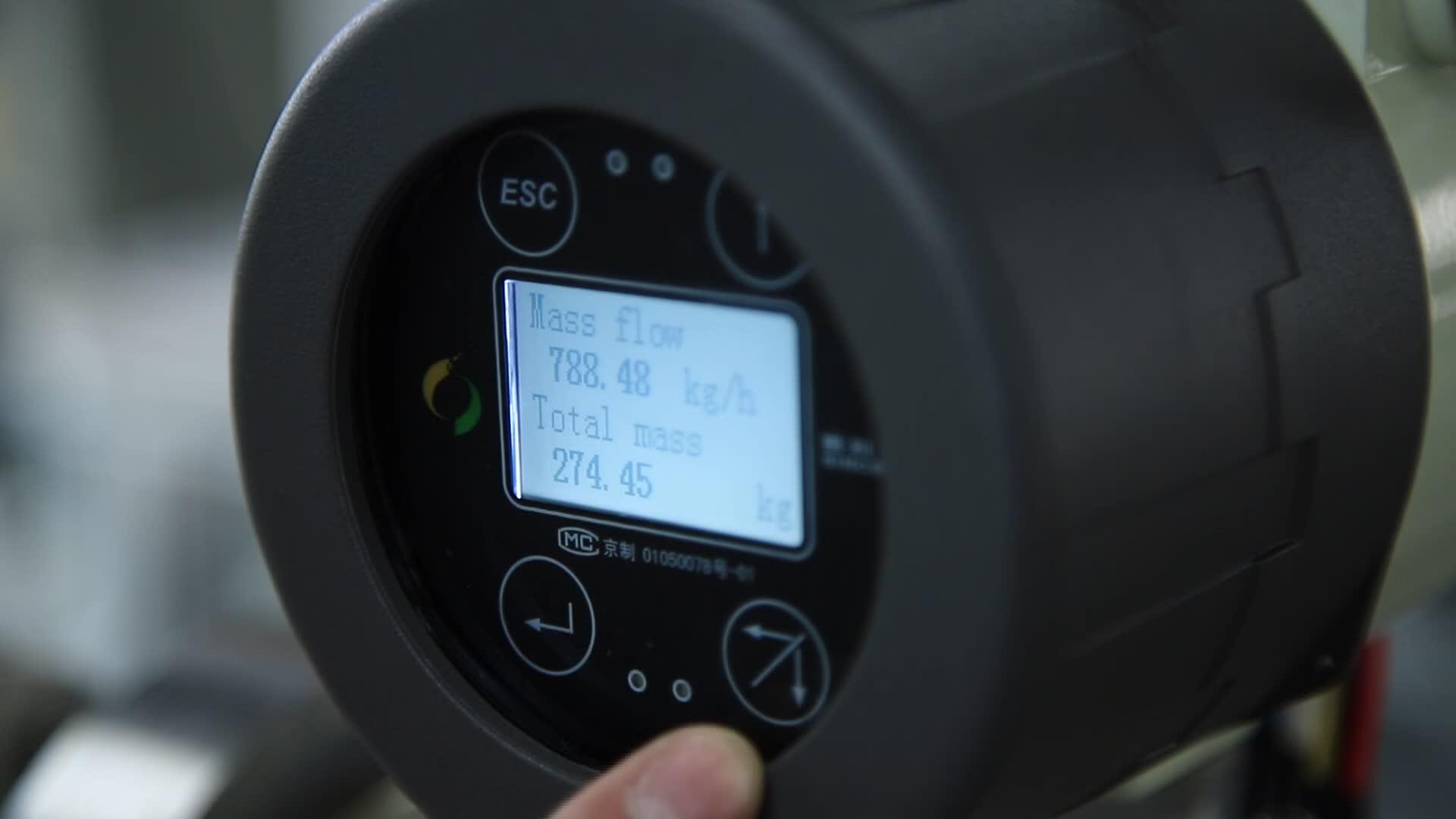 Sinceridade Alta Qualidade Resposta Rápida Ajustable DMF-1-Series Medidor De Gás