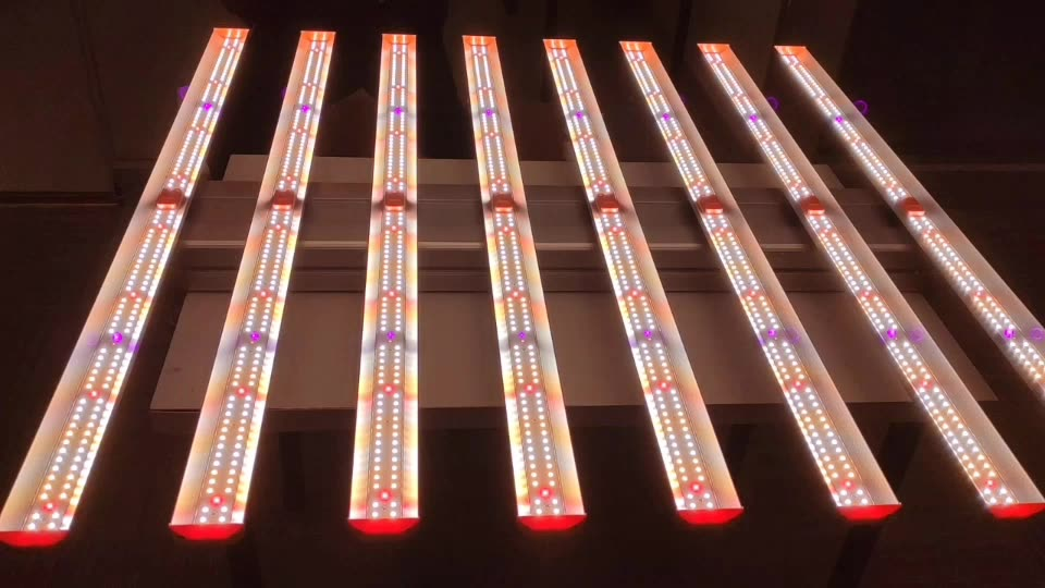 Indoor Hydro Red IR UV Dimmable 510W Full spectrum LED Grow Light bar light
