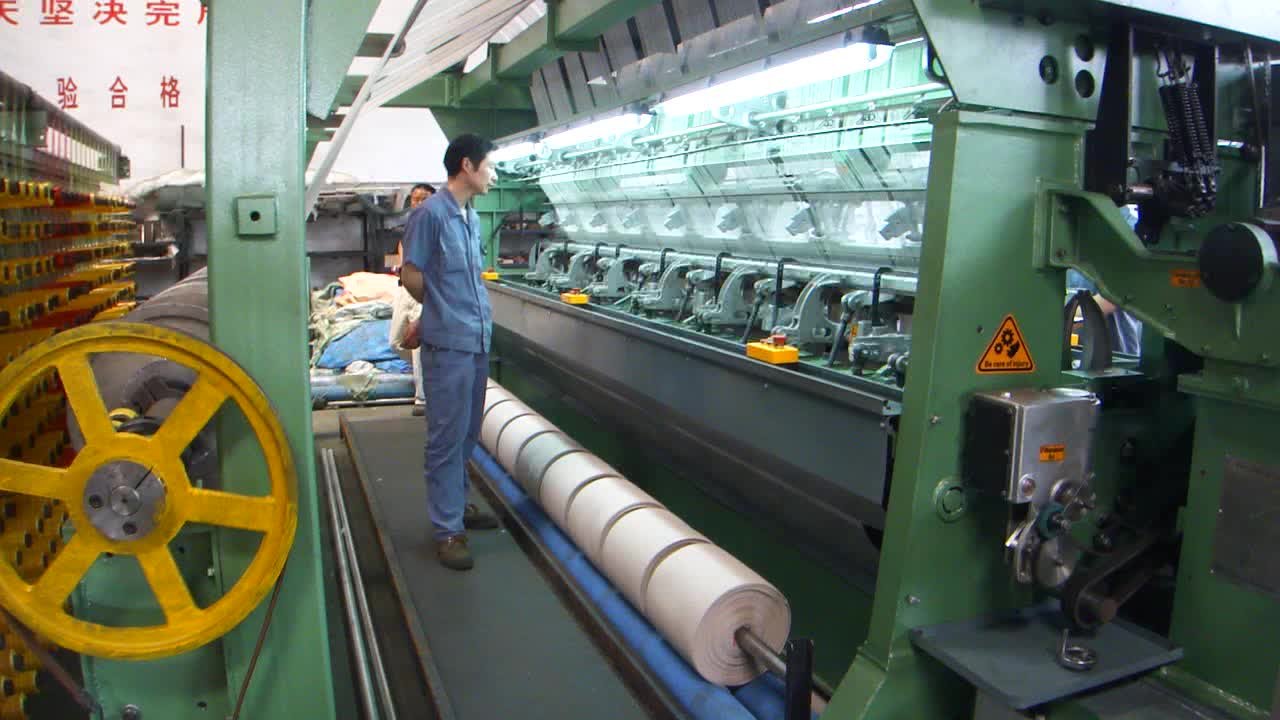 special warp knitting machine for fishing net with beam