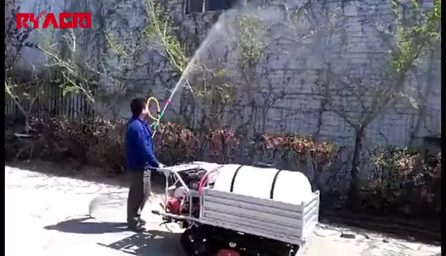 Self propelled agricultural / orchard / farm weed fogging plastic pesticide portable power sprayer