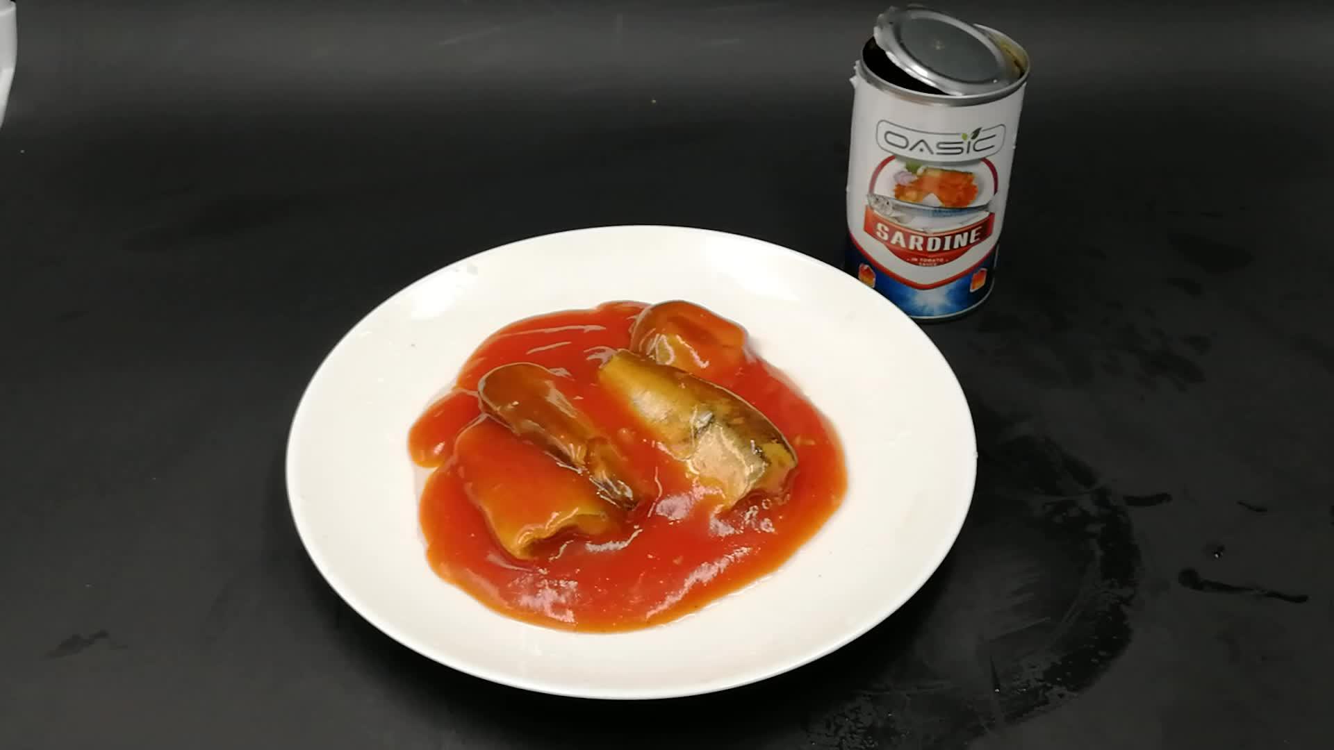425g de Sardines En Conserve Dans La Sauce Tomate