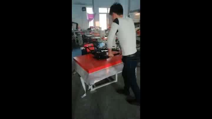 Dongguan 80*100 คู่มือระเหิดความร้อนเสื้อยืดพิมพ์เครื่อง