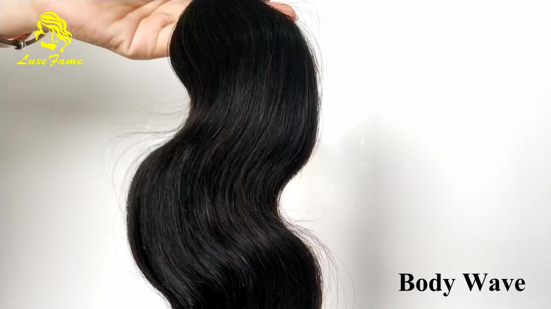Chemical Free Unprocessed Peruvian Hair Cuticle Aligned Hair